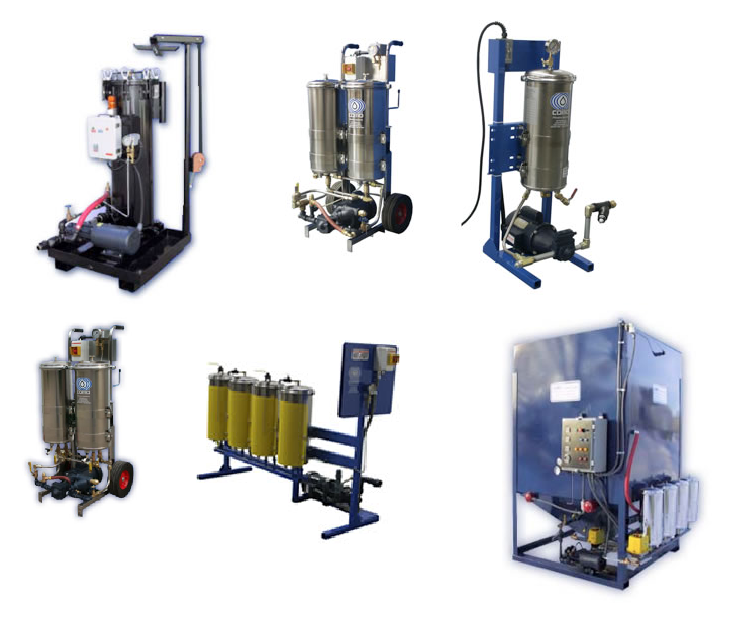 High Viscosity Oil Flushing Systems