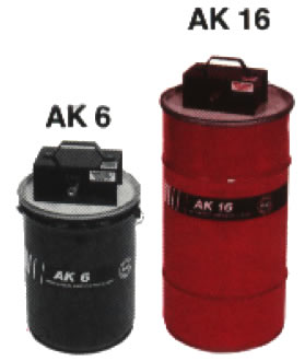 Product image of our AK Series Agitated Tanks and Cleaners.