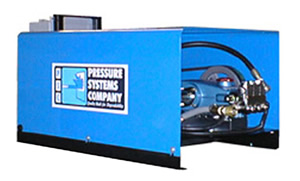Product image of our Cold Water Stationary Pressure Washing Systems.