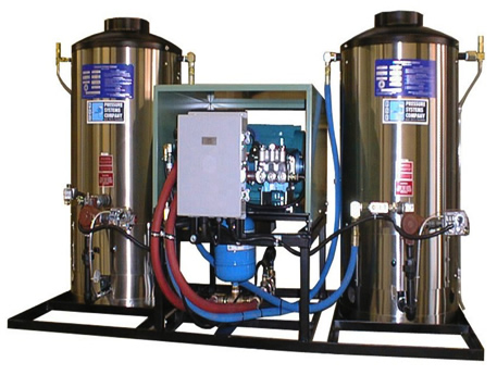 Additional product image of our Propane and Natural Gas Fired Pressure Washers.
