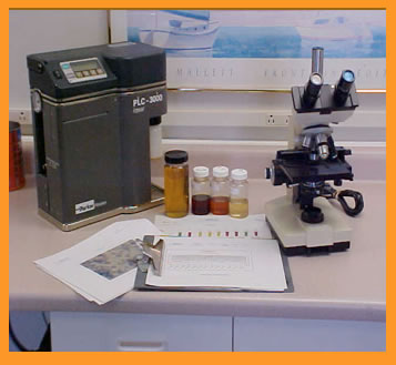 Product image of our Oil Analysis & Fluid Management Programs.