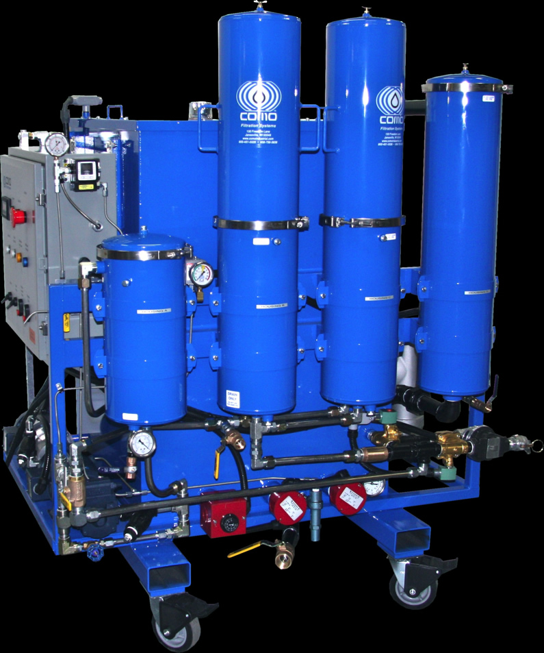 OIl Filtration and Recycling Design