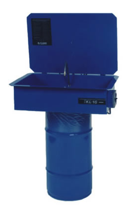 Recirculating Base Mounted Series - Parts Cleaners