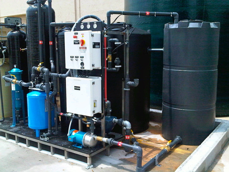 Product image of an Multi-Media/Sewer Discharge (MSD Series) Water Filtration System