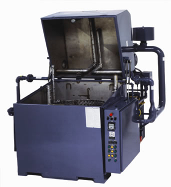 Product image of our Top Loader Cleaning System.
