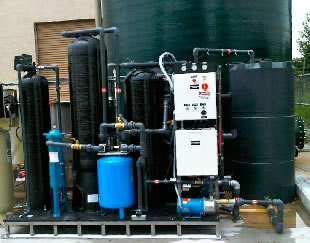 Product image of an VR Series Heavy Duty Wash  Water Recycling System